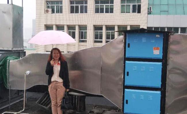 贝思兰广州市天河区政府油烟在线监测及治理改造项目